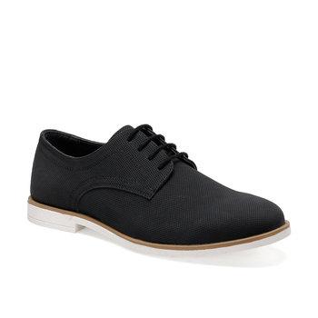 FLO marka Classic Man Pointed Toe mężczyźni obuwie męskie lakierki czarne buty ślubne Oxford formalne buty derby 1928-1 jj-stiller tanie i dobre opinie Sztuczna skóra Przypadkowi buty Lace-up Pasuje prawda na wymiar weź swój normalny rozmiar Derby buty Wiosna jesień