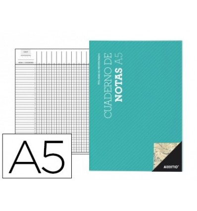 NOTEPAD ADDITIO A5 SCHEDULE PLANNING MONTHLY DISPOSITIONS COURSE