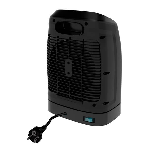 Portable Fan Heater Cecotec Ready Warm 9600 Smart Force 2000W Black