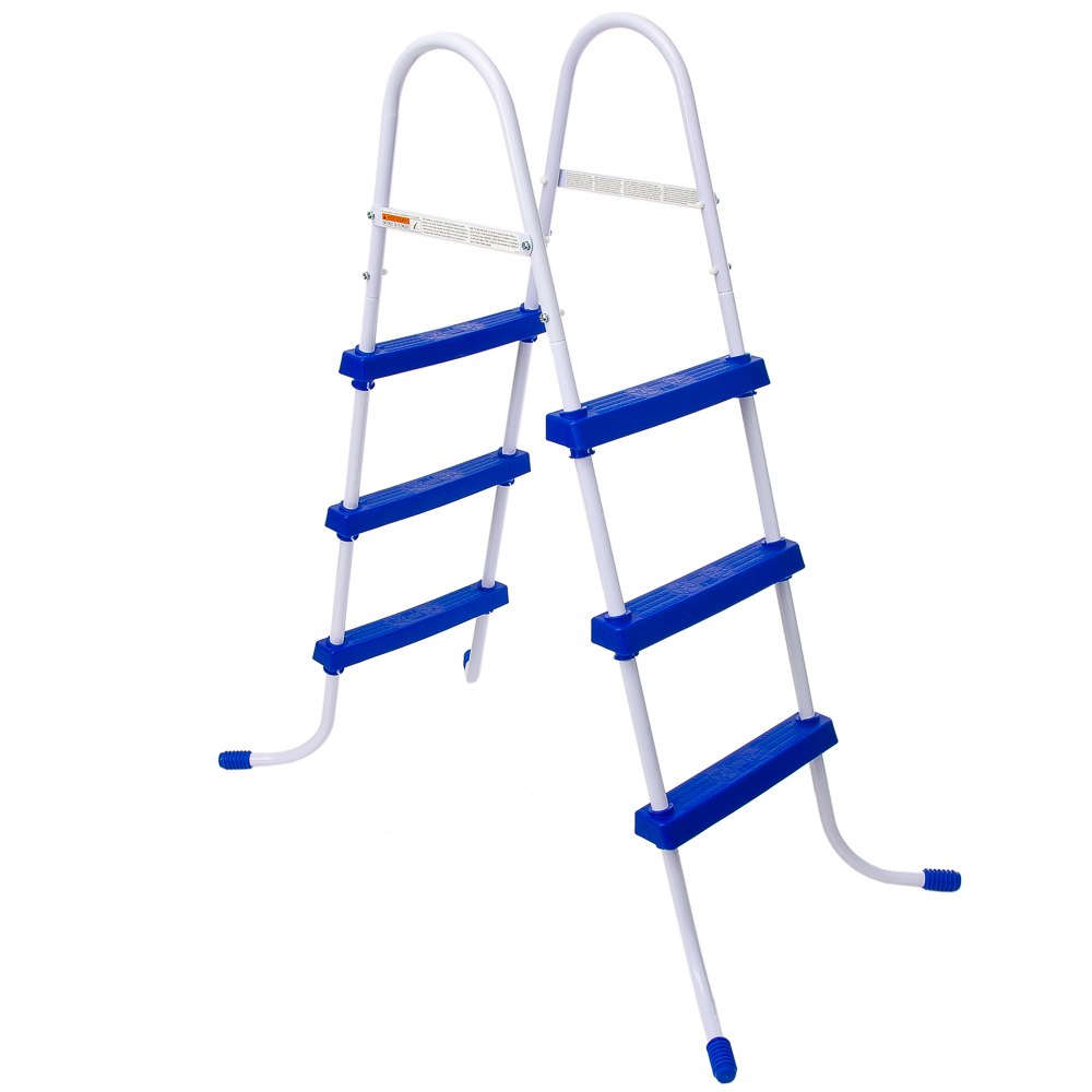 Bestway Ladder For Swimming Pools, Steel, 107 Cm