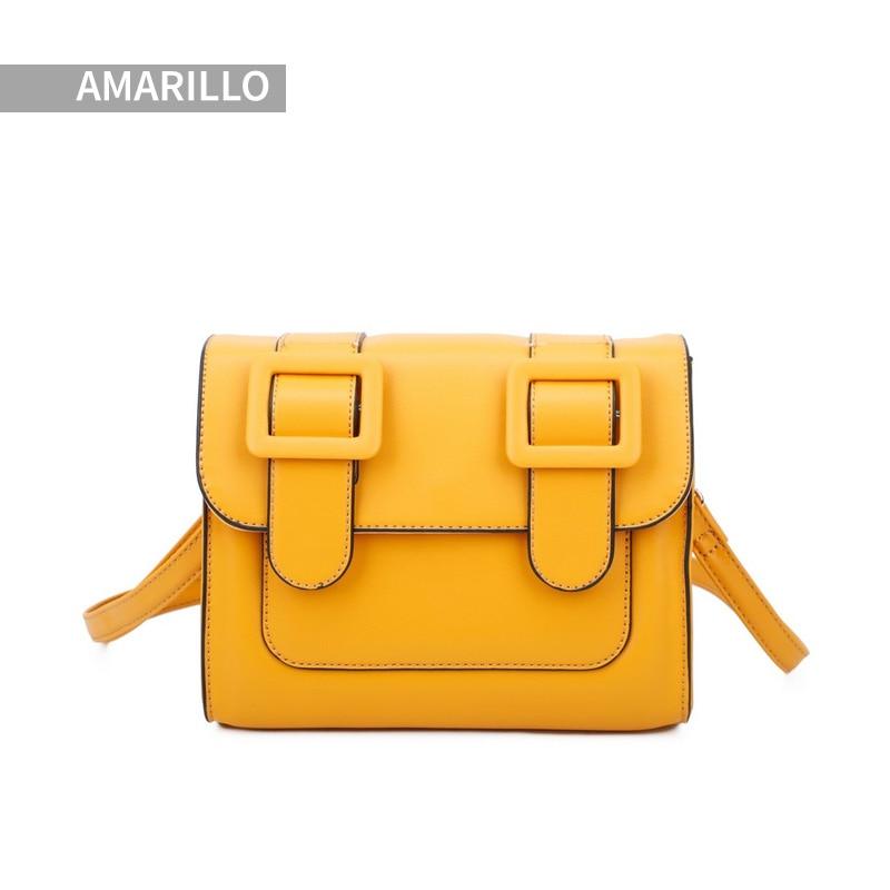 Giovanna Milano Bolso pequeño bandolera cruzado con botón y cremallera, diseño elegante, cómodo para viajar. 4