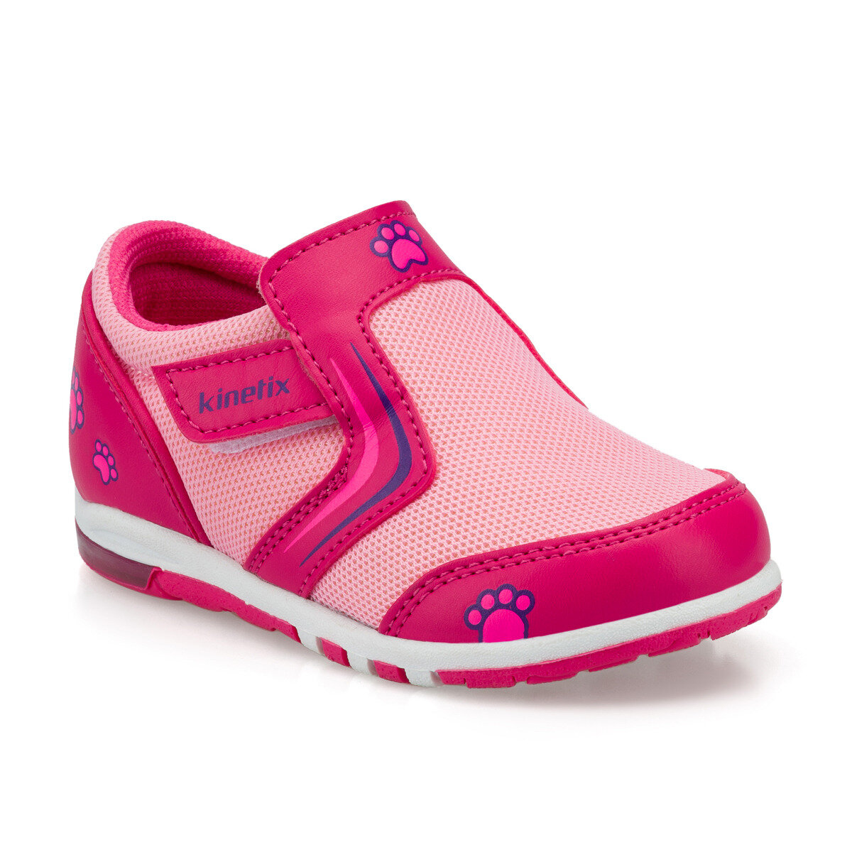 FLO KANTE Pink Female Child Walking Shoes KINETIX