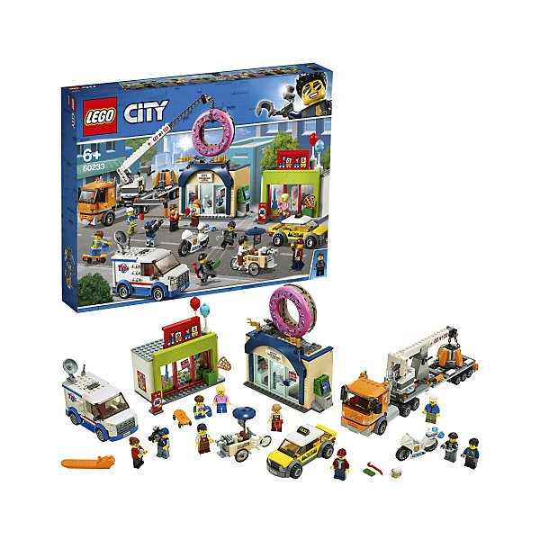 Lego City Town 60233 store Opening sales donuts