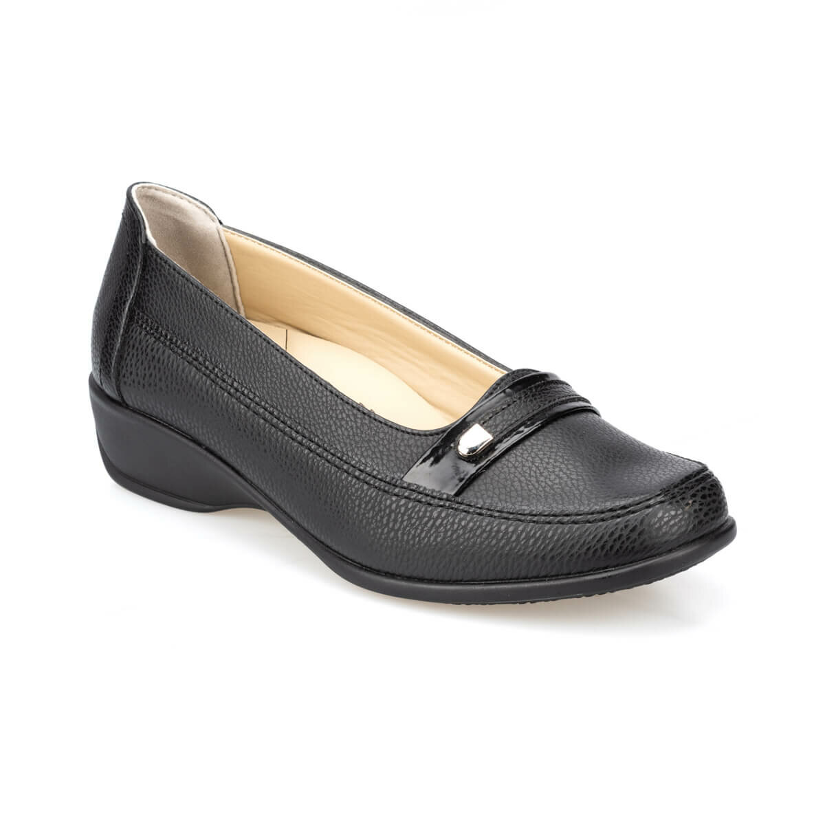 FLO 91. 111002.Z Black Women Shoes Polaris 5 Point