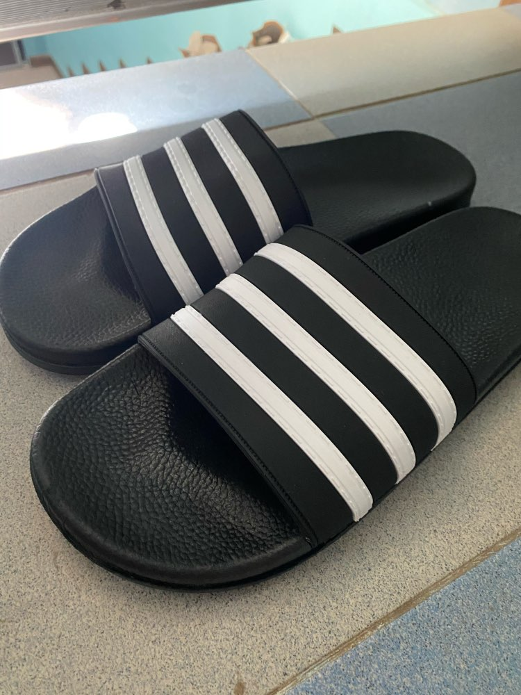 Men's Slippers 2020 Women Mens Slides Couple Flip Flops Soft Black and White Stripes Casual Summer Shoes Male Chaussures Femme Slippers    - AliExpress