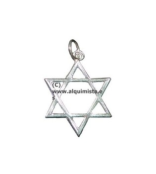 AMULETS SILVER STAR DAVLD Without Circle Caldaa