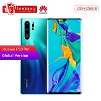 Global Version Huawei P30 Pro 8GB 256GB Smartphone 5x Optical Zoom Quad Cameras 6.47'' Full Screen OLED Kirin 980 NFC 4200mAh
