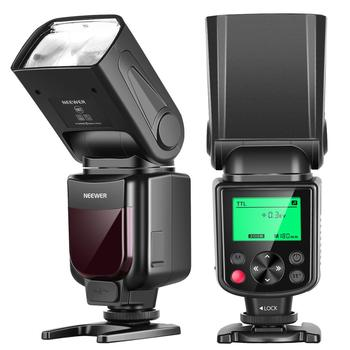 Neewer 750II TTL Flash Speedlite with LCD Display for Nikon D7200 D7100 D7000 D5500 D5300 D5100 D3300 D3100 D3000 D700 D600 macro camera lens reverse adapter protection set for nikon d80 d90 d3300 d3400 d5100 d5200 d5300 d5500 d7000 d7100 d7200 d5 d610