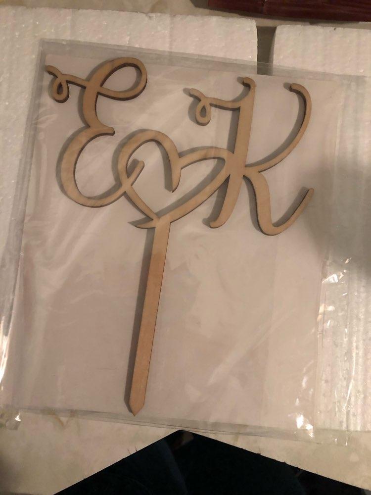 Materiais p/ decoração de bolo Topper Fazemos Rústico