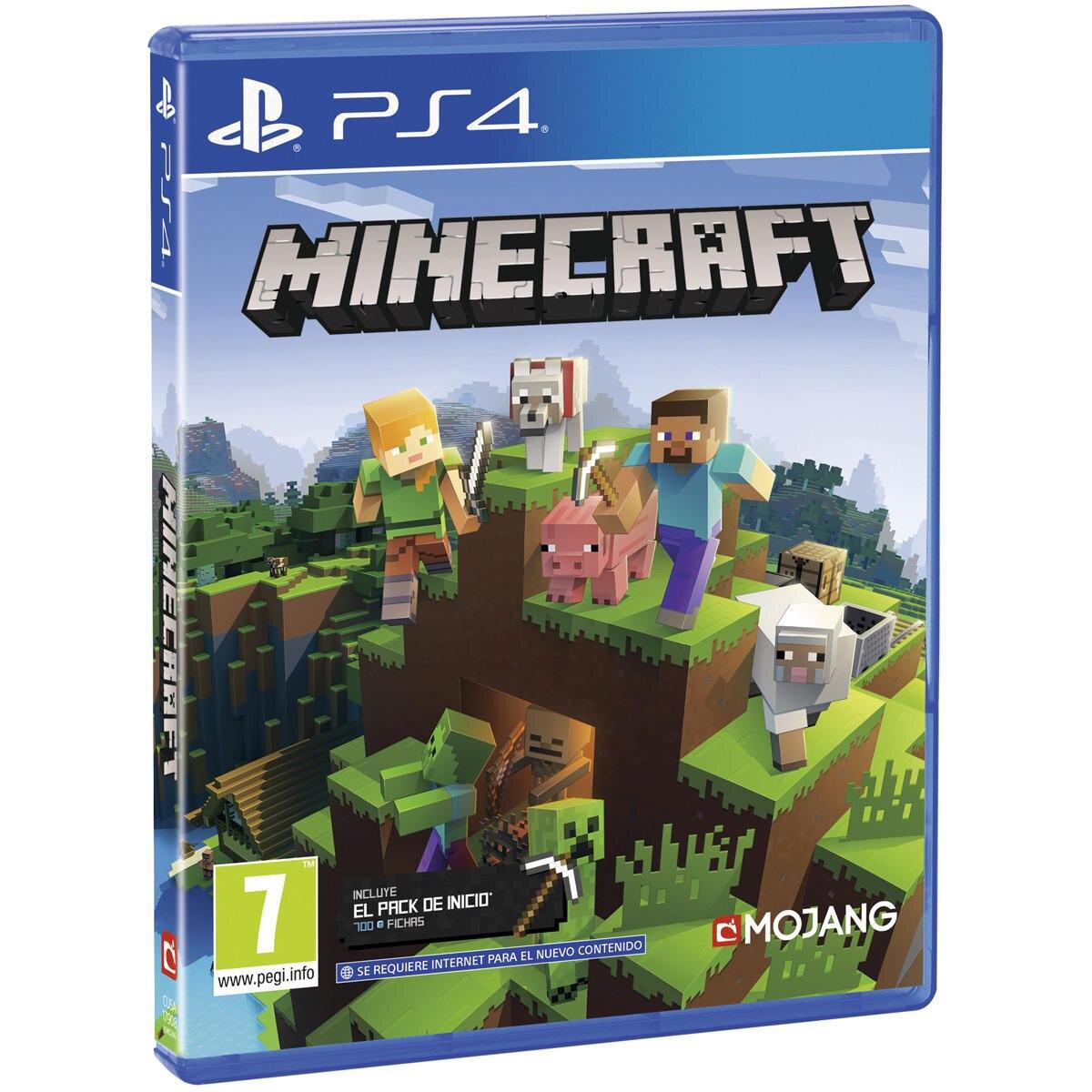 Minecraft Bedrock Ps4 Videojuegos Juegos Sony Aventuras Y Plataformas Edad 7+