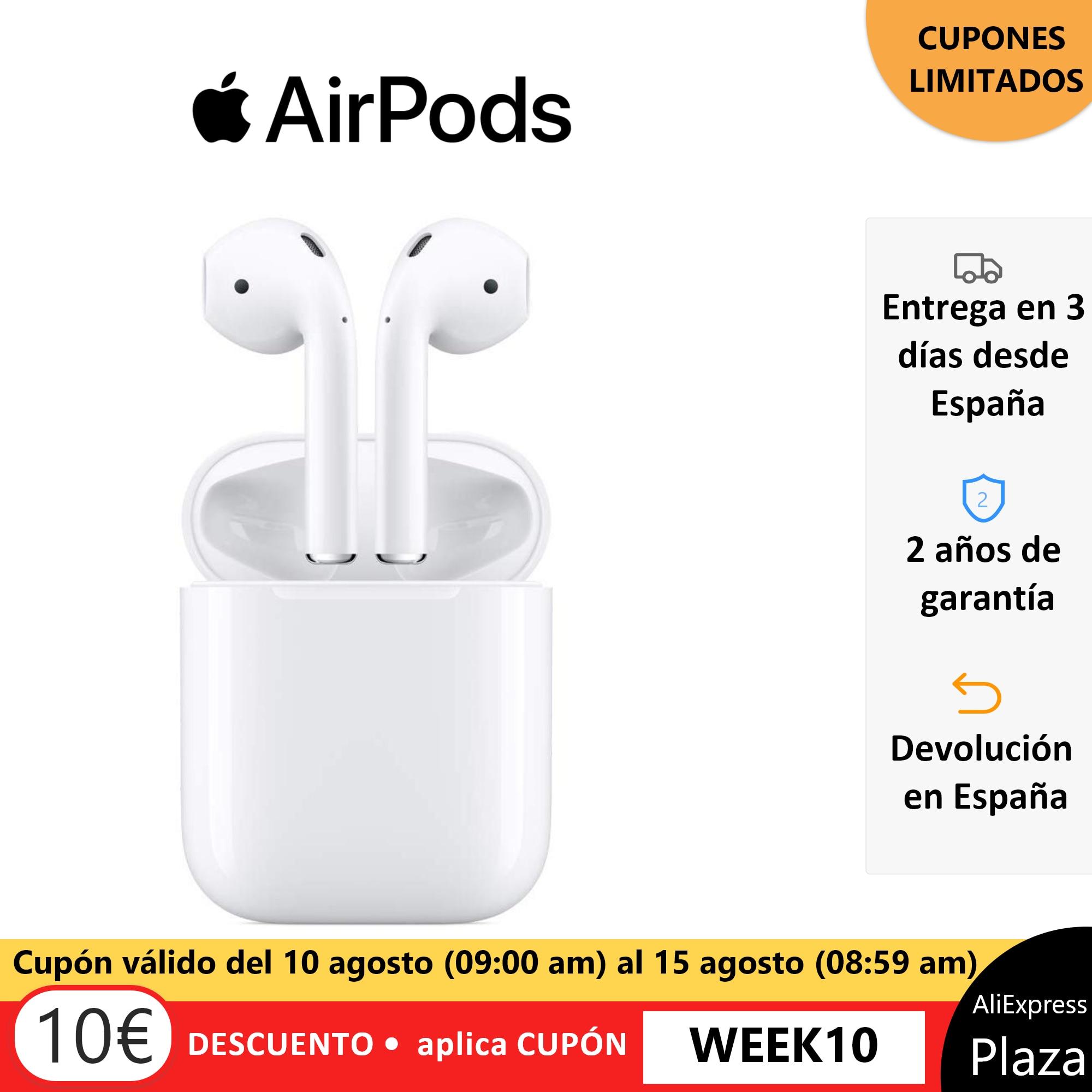 Apple Airpods por 119 euros (-25% desc.)en Plaza