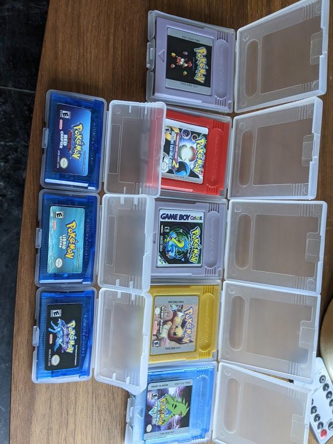 For Nintendo GBC Video Game Cartridge Console Card Poke Series Brown Version English Language Version photo review