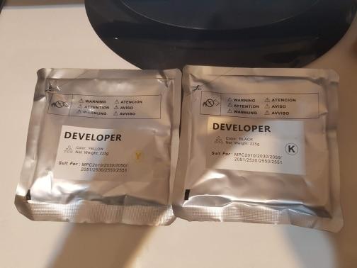 Pó p/ toner Aficio Desenvolvedor Desenvolvedor