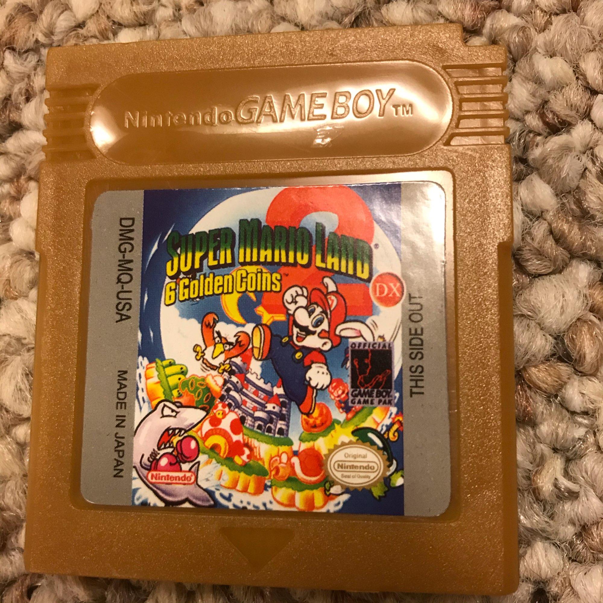 For Nintendo GBC Video Game Cartridge Console Card Super Mari Land 2 English Language Version photo review