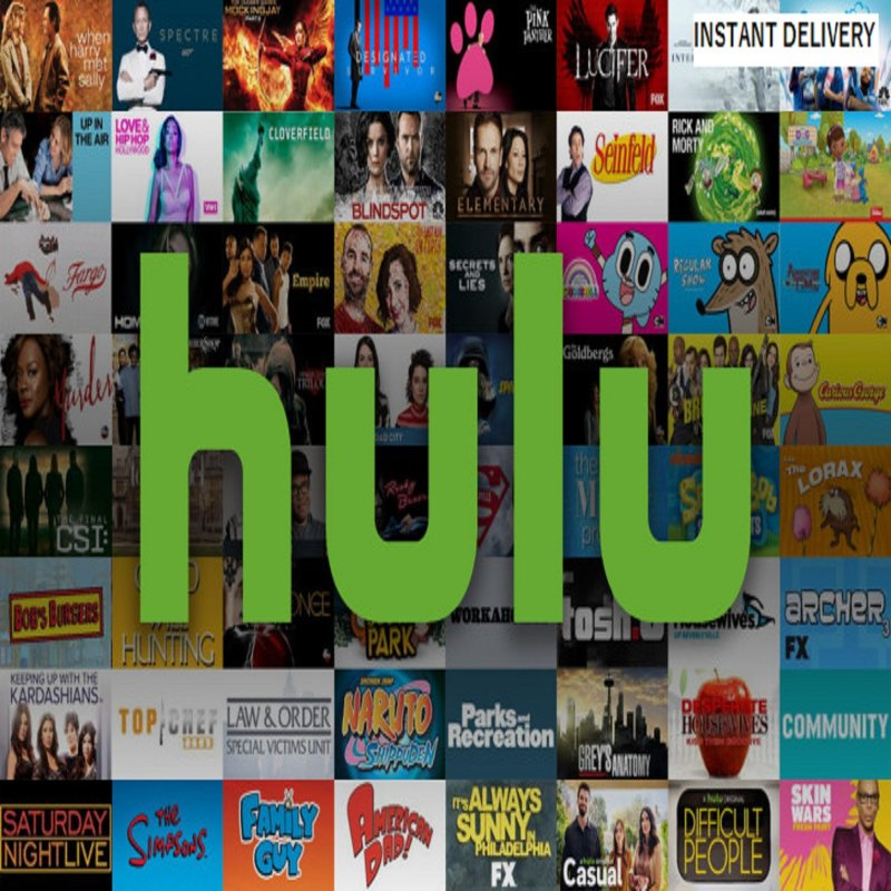 Hulu Premium Account Ads Free Work On Windows PC IOS Android Smart TV Set Top Box