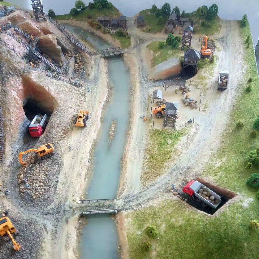 25pcs 1:87 HO miqyaslı dəmir yolu modeli boyalı işçi 2.2sm - Uşaq konstruktorları - Fotoqrafiya 2