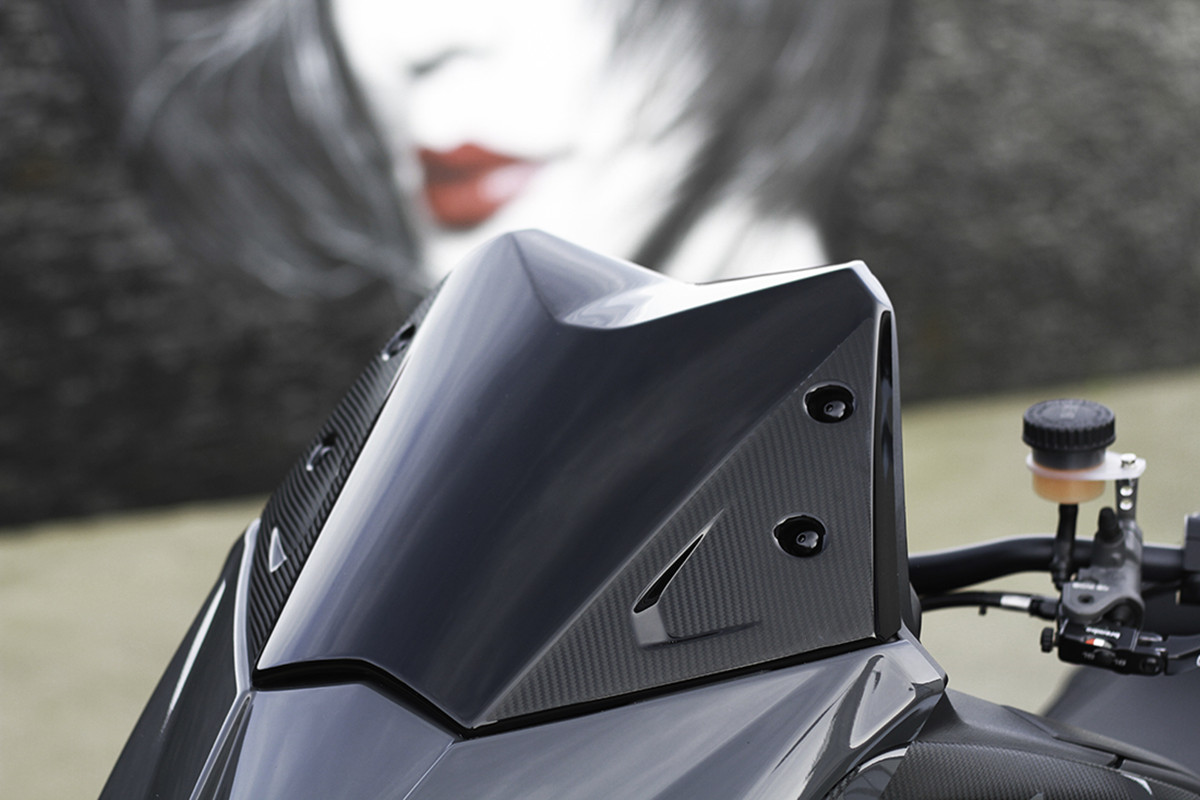 Wildscreens-Visor Windshield T-MAX YAMAHA for 530/T-max/530/.. Sporty-Decoration title=