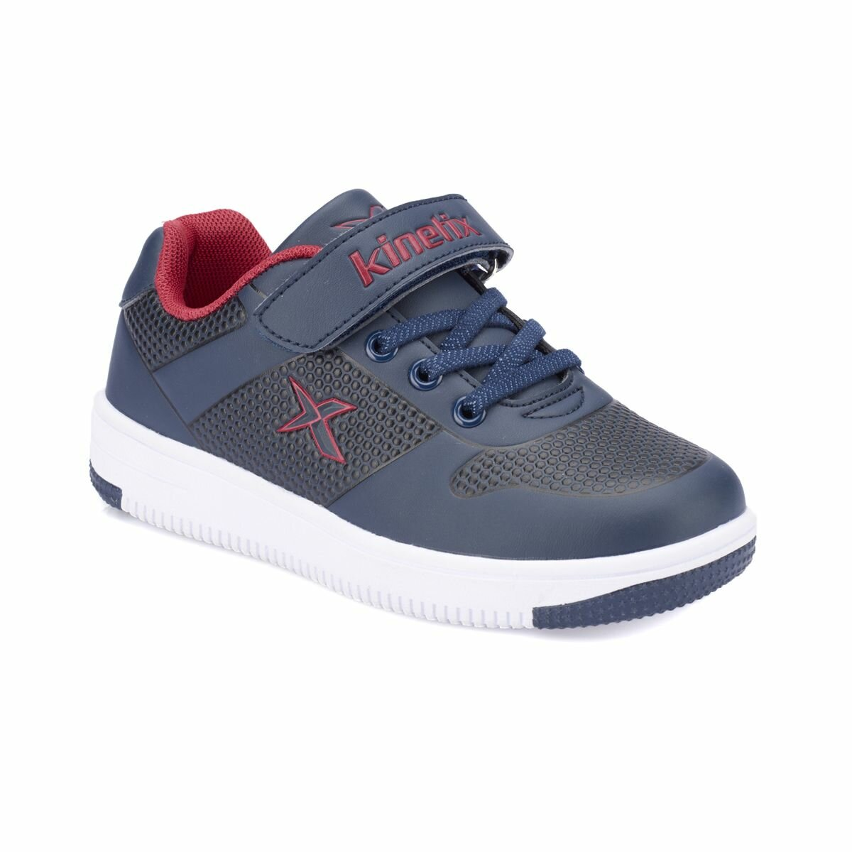 FLO DINRO Navy Blue Male Child Sneaker Shoes KINETIX