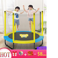 ADKING 59Inch Trampoline With Net For Child  Foldable Design, Indoor&Outdoor Exercise, Jumping Bed for kids Children' Toy