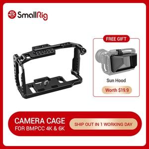Image 1 - SmallRig bmpcc 4k Cage DSLR Cámara Blackmagic Pocket 4k / 6K cámara para Blackmagic Pocket Cinema Cámara 4K / 6K BMPCC 4K 2203B