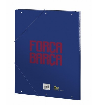 FOLDER FOLIO 3 LAPELS FCBARCELONA 17