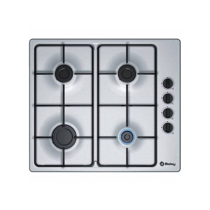 Gas Plate Balay 3ETX464MB 60 Cm 60 Cm Stainless Steel (4 Burner Stove)