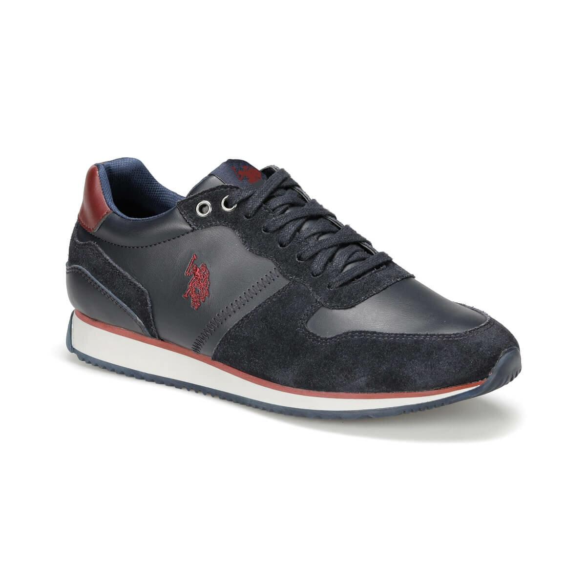 FLO MAC WT 9PR Navy Blue Men 'S Shoes U.S. POLO ASSN.