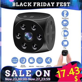 2020 nyt magnetisk mini action kamera trådløs lille nattsyn sport DV super bærbar med nattesyn cop cam