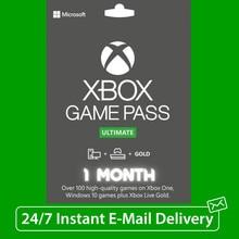 Code xbox viver 1 mês ouro & xbox jogo passar final (2x14 dias) código instantâneo
