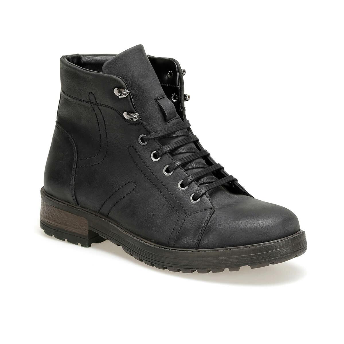 FLO 71146 Black Men Boots Forester