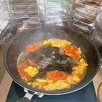 番茄鸡蛋肉丸紫菜汤的做法图解15