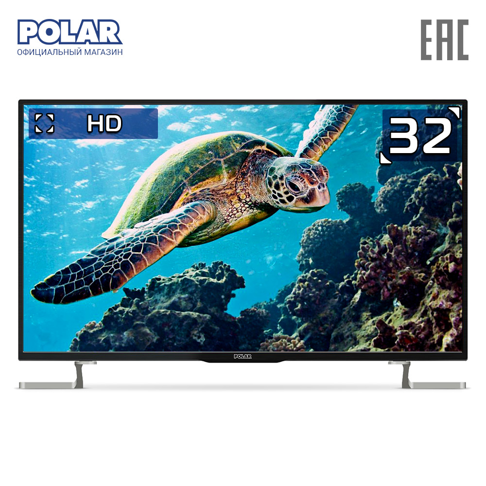 LED Television POLAR P32L34T2C Consumer Electronics Home Audio Video Equipments TV 3239InchTv image