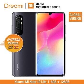 Купить Глобальная версия Xiaomi Mi Note 10 Lite 6 ГБ RAM 128 Гб ROM (абсолютно новый/запечатанный) note10, note10lite, 64, телефон мобильный