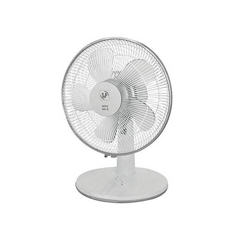 Fan Desktop S & P ARTIC-305 White