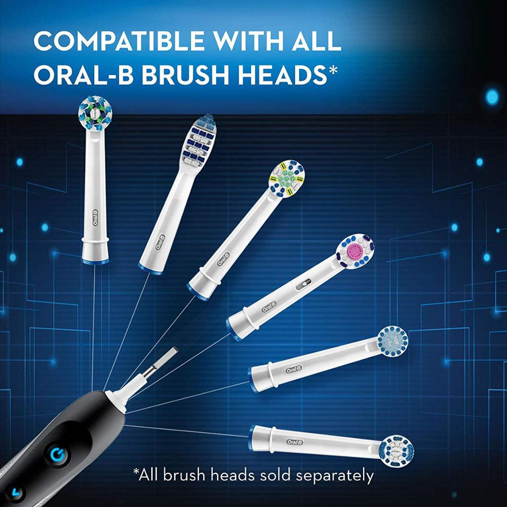 Oral-B Pro 7000 SmartSeries Black Electronic Power Rechargeable Electric Toothbrush with Bluetooth Connectivity