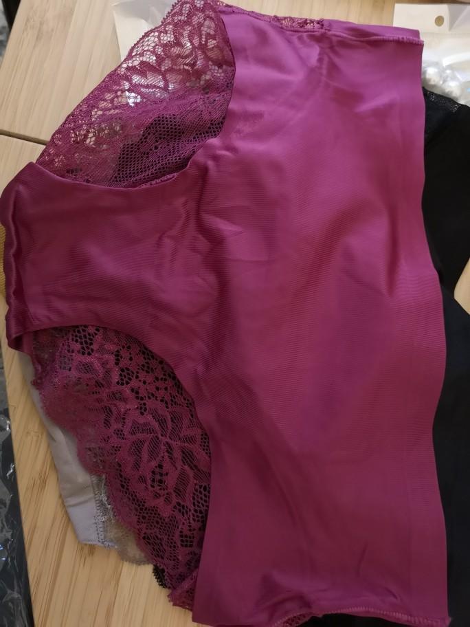 ALLMIX 3Pcs/lot Hollow Out Women's Panties Sets Underwear Seamless Silk Sports Briefs Low Waist Underpants Sexy Lady Lingerie photo review