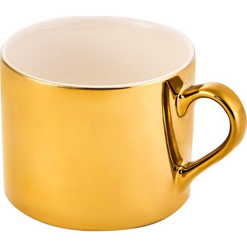 WONDERFUL MAGNIFICENT Karaca Shiny Silver -GOLD Mug   FREE SHIPPING  FREE SHIPPING