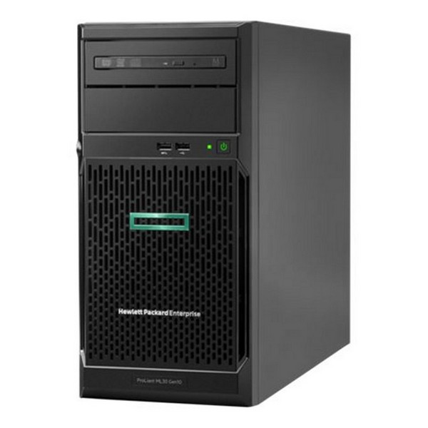 Server Turm HPE ProLiant ML30 Gen10 Xeon E-2124 8 GB RAM LAN Schwarz