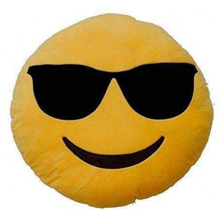 Emoticonworld Sunglasses 32 Cm-Cushion Emoticon.
