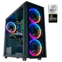 Ordenador de Sobremesa Pc Gamer Intel Core i5-10400F 16GB DDR4 SSD480GB+ 1TB GTX1650 GTX1660 RTX 3060 4GB USB3.0, HDMI W10 PRO