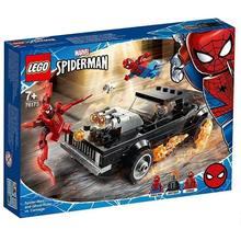 Spiderman y el moto rista fantasma LEGO MARVEL 212 piezas original (76173) juego construcción de moto de juguete... carnicería
