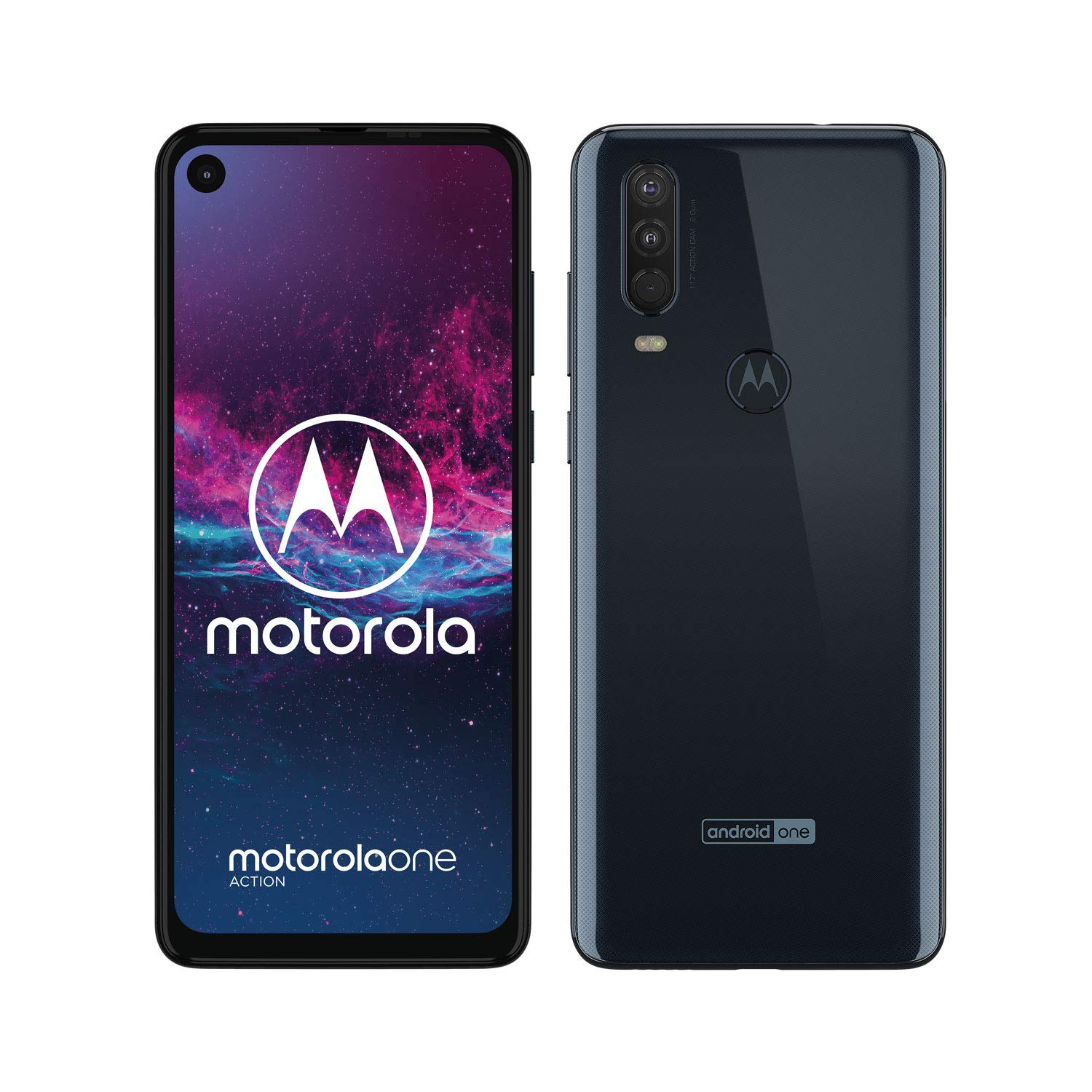 Motorola One Stock, Gray, 128 GB ROM, 4 GB RAM, 6,3