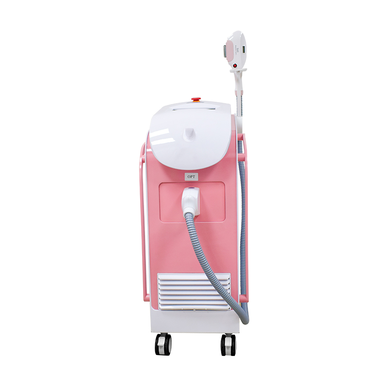 Permanent Hair Removal Device Manufacturer E-Light 360 Magneto Optical SHR IPL With 200000 Shots Hair Removal Machine