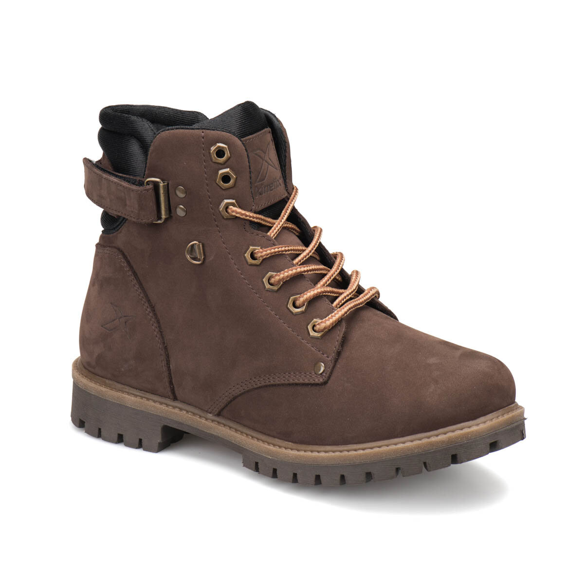FLO SALVADOR Brown Men Boots KINETIX