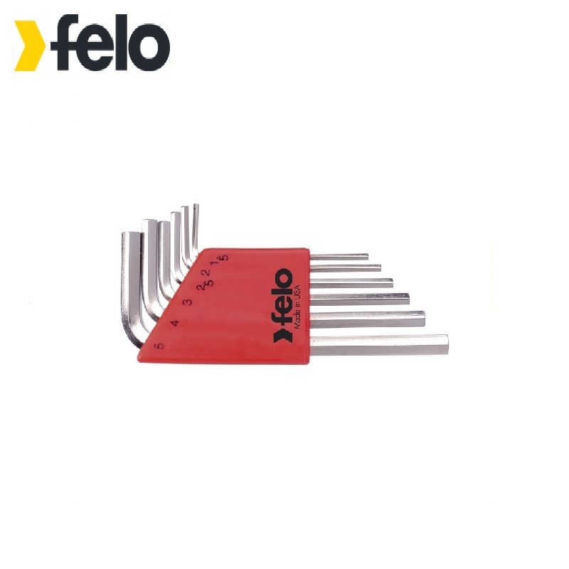 Felo Set of six-sided keys with ball ending 6 pcs 34500601 Allen wrench Used with headless screws Rozhkovy, cap, combined keys 6 90degree 0 3mm diamond bits with high quality used for cnc router machine