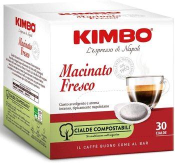 Kimbo Coffee Pods Compostable ESE-Ground Fresh-Roasting Dark (6x30 pods)
