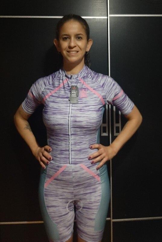 High-Quality Women's Triathlon Cycling Set photo review