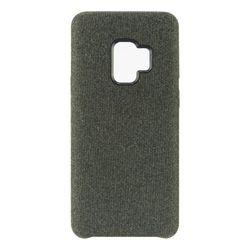 Pokrowiec do telefonu Samsung Galaxy S9 Textil sztywne etui czarne na