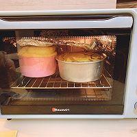 双色南瓜戚风蛋糕组织巨细腻 柔软的做法图解5