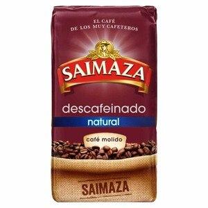 Natural decaffeinated Saimaza 250 grams ground coffee